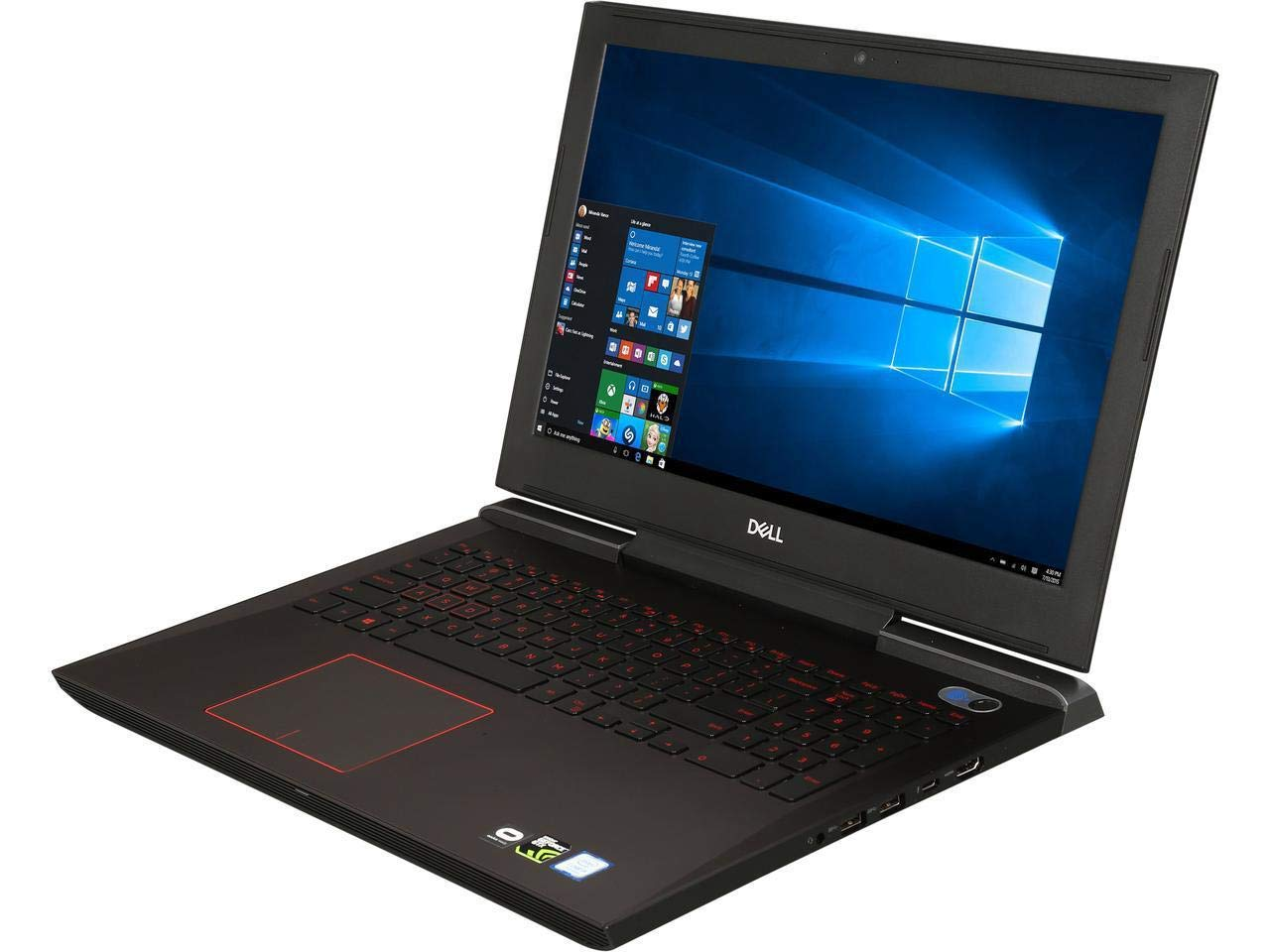 "DELL Inspiron 15.6"" FHD IPS VR Ready High Performance Gaming Laptop, Intel Quad Core i5-7300HQ Up to 3.5GHz, 16GB Memory, 256GB SSD, 1TB HDD, NVIDIA GeForce GTX 1060, Backlit Keyboard, Windows 10"