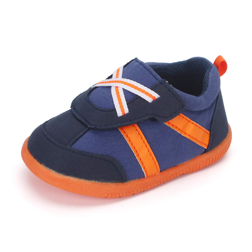 LACOFIA Zapatos Primeros Pasos para Beb/é Ni/ño Zapatillas de Suela de Goma Antideslizantes para Beb/és