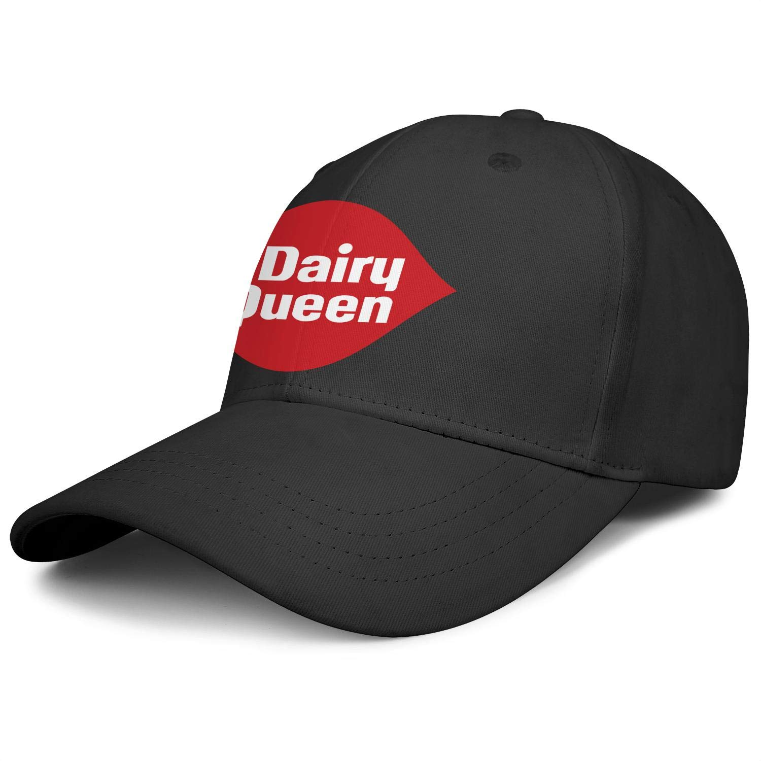Unisex Classic Baseball Cap Dairy-Queen-Logo-Sign- Outdoor Dyed Cotton Adult Cap by NAKHFBVi