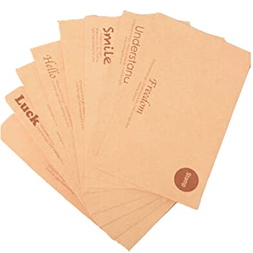 Amazon simple plain letters paper envelopes greeting card simple plain letters paper envelopes greeting card envelopes8sets 8style computer m4hsunfo