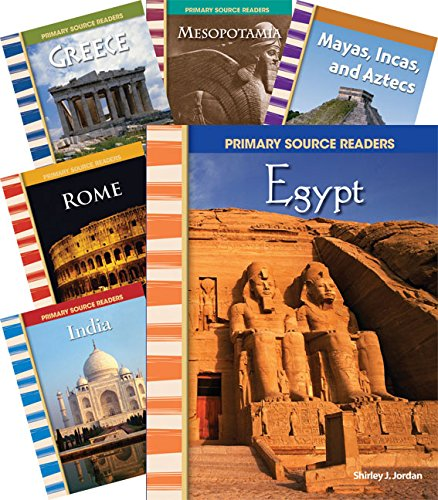 Teacher Created Materials - Primary Source Readers: Cultures through Time - 8 Book Set - Grades 4-5 - Guided Reading Level O - R ()