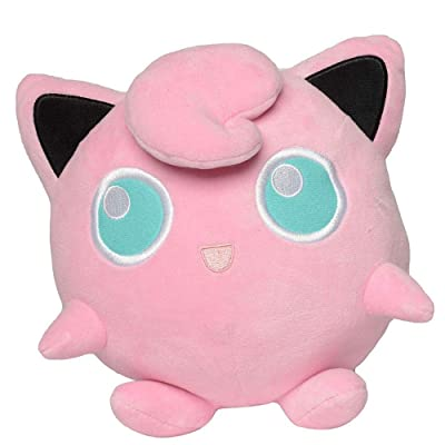 "PoKéMoN Jigglypuff Plush Stuffed Animal - 8"" - Age 2+: Toys & Games"
