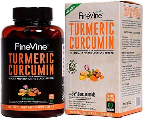 FineVine Turmeric Curcumin