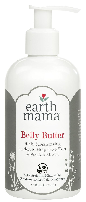 Earth Mama Body Butter for Pregnancy Stretch Marks (8 Fl. Oz.) Earth Mama Angel Baby EMA030