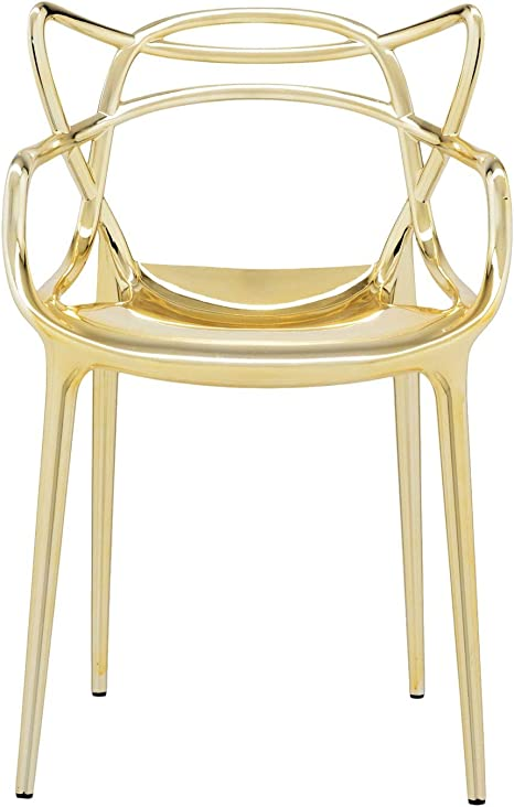 Kartell Masters Chaise, Or, Lot de 9