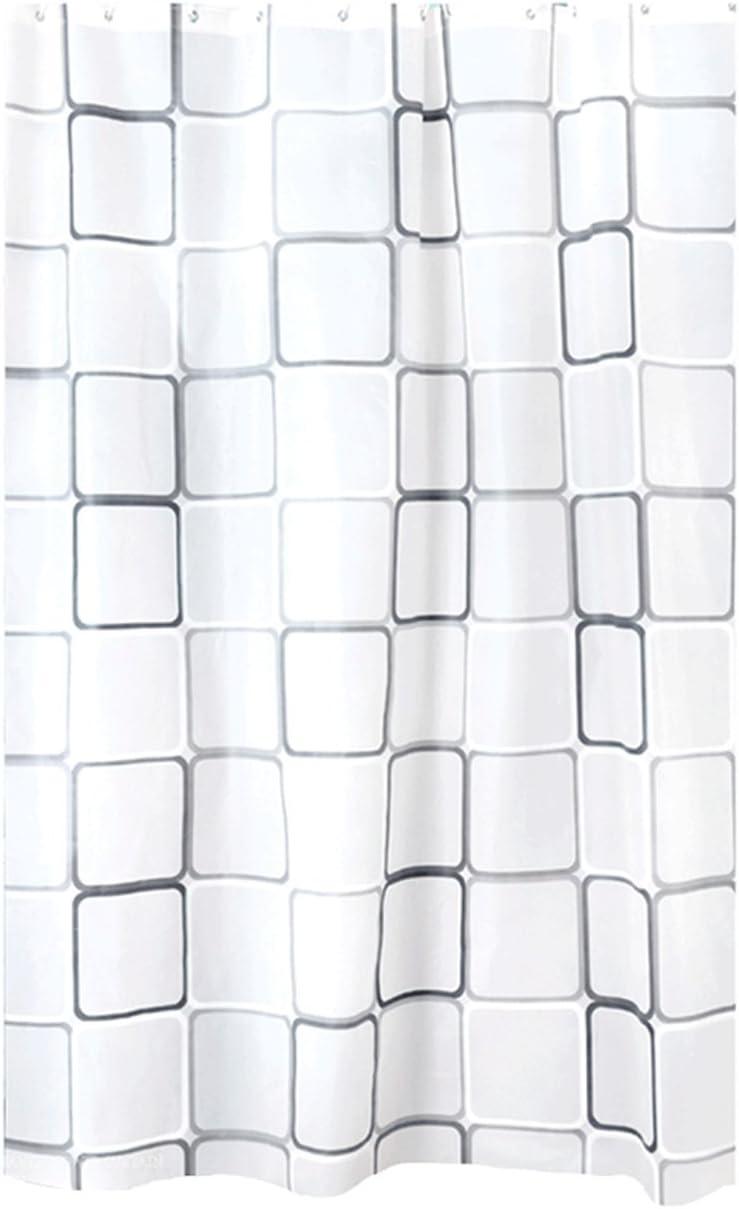 incluido anillas bouti1583/- cortinas de ducha o ba/ñera gran selecci/ón 120//150//180//200//240/x 200/cm a cuadros 150 x 200cm