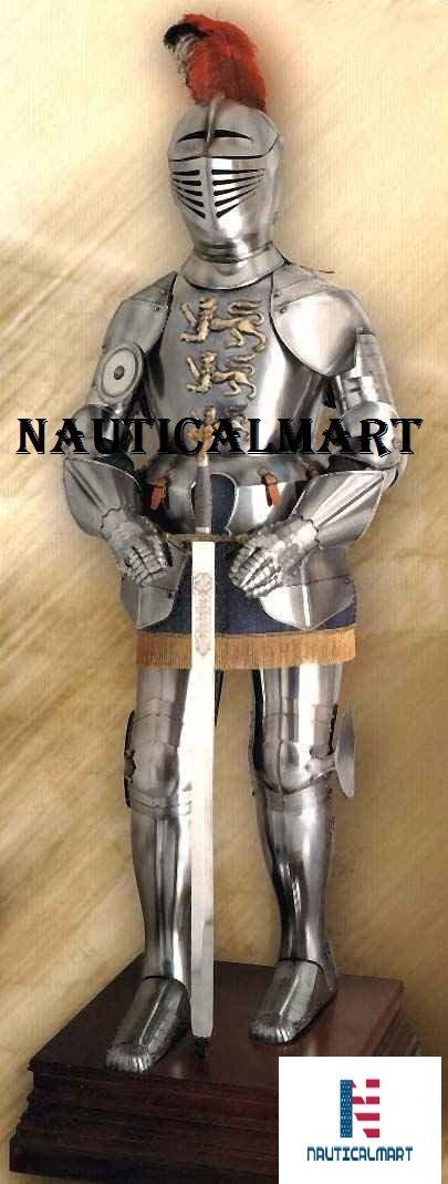 Amazon.com: Nauticalart, traje español de armadura medieval ...