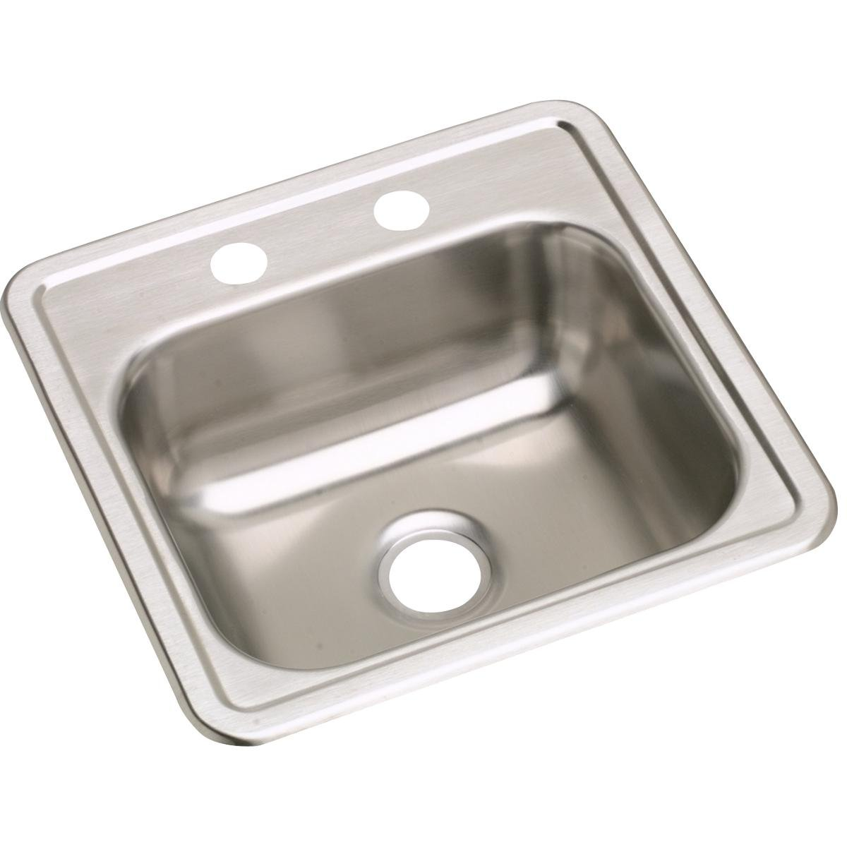 Dayton D115151 Single Bowl Top Mount Stainless Steel Bar Sink