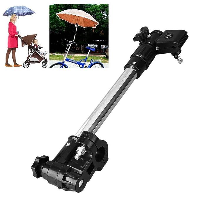 Itaar Universal Soporte de Paraguas para Bebé Cochecito Silla de Paso o Bicicleta Diametro de 0.78-0.98 inch Ajustable: Amazon.es: Bebé