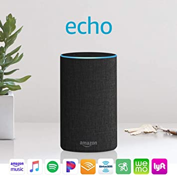 Amazon Echo (2nd generation) —...