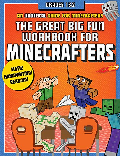 The Great Big Fun Workbook for Minecrafters: Grades 1 & 2: An Unofficial Workbook