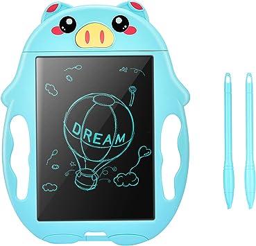 KITY Regalos Niño 3 4 5 6 7 8 Años, Tablet para Dibujo Juegos de Mesa Niños 3-12 Años Regalos para Niños de 3-10 Años Juguetes Educativos Regalos de Cumpleaños para Niños Azul: Amazon.es: Deportes y aire libre