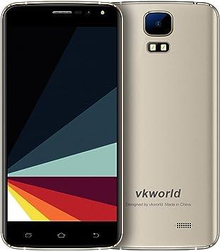 VKworld S3 Smartphone smartphone Barato Android 7.0 Dual SIM 5.5 Pulgadas con Pantalla IPS MT6580A Quad