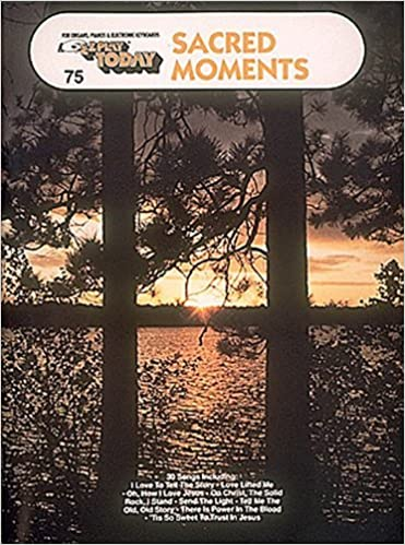 Sacred Moments: E-Z Play Today Volume 75 by Various (1970-01-01)