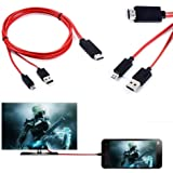 1080P MHL USB HDMI AV TV Cable Adapter Cord For Samsung Galaxy Tab S2 8.0 9.7