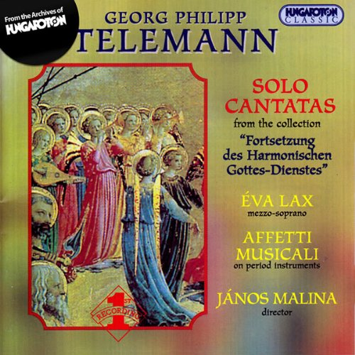 Price comparison product image Solo Cantatas from the Collection Fortsetzung Des Harmonischen Gottes-Dienstes