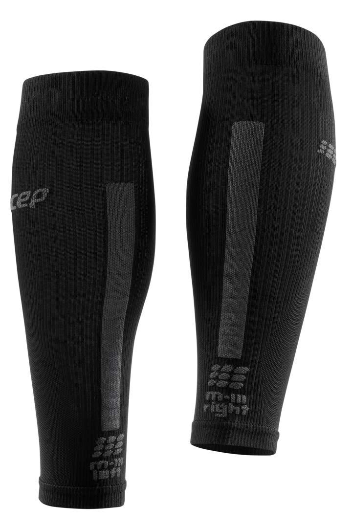 CEP Women's Compression Run Sleeves Calf Sleeves 3.0, Black/Dark Grey II by CEP (Image #4)