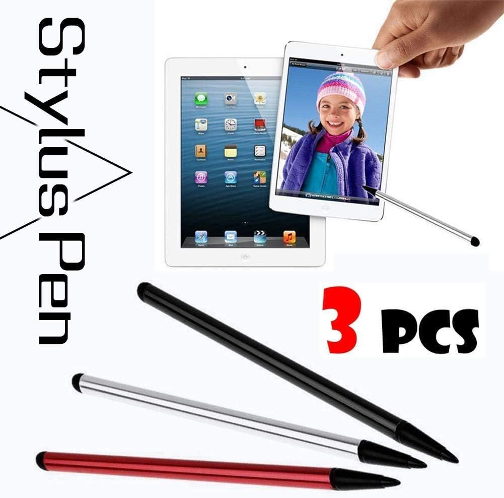 heresell iPad iPhone Pennino Capacitivo Universale 2 in 1 per Kindle Samsung Galaxy e Altri dispositivi con Schermo Capacitivo
