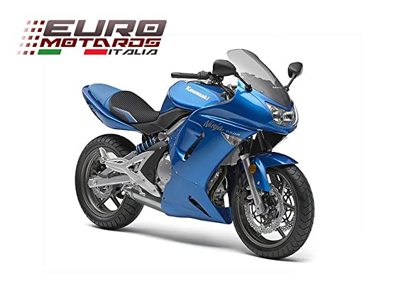 Kawasaki ER6N ER6F Ninja 650R 2005-2008 Luimoto Team Kawasaki Seat Cover + Gel Pad