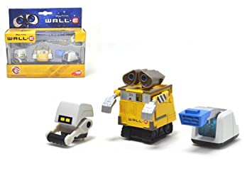 SIMBA Wall - E Pack 3 Robot Cars