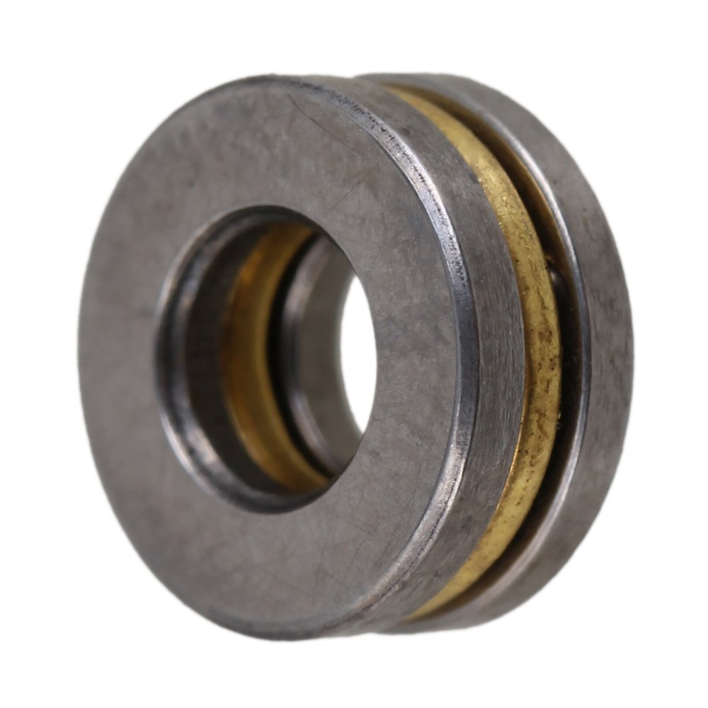 5mm x 10mm x 4mm Silber 3-teilig Pr/äzises Modell F5-10M Axial Druckkugellager Packung von 10 st/ück