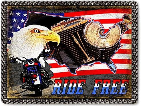 HARLEY DAVIDSON BIKE metal SIGN vintage style MOTORCYCLE MANCAVE wall decor 390