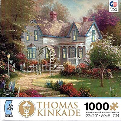 Thomas Kinkade Painter Of Light 100 Piece Miniature Puzzle Home Is Where The Heart Is Ii By Ceaco