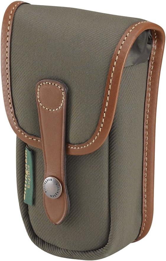 Sage FibreNyte//Tan Leather Billingham AVEA 3 Pouch for Camera Bag