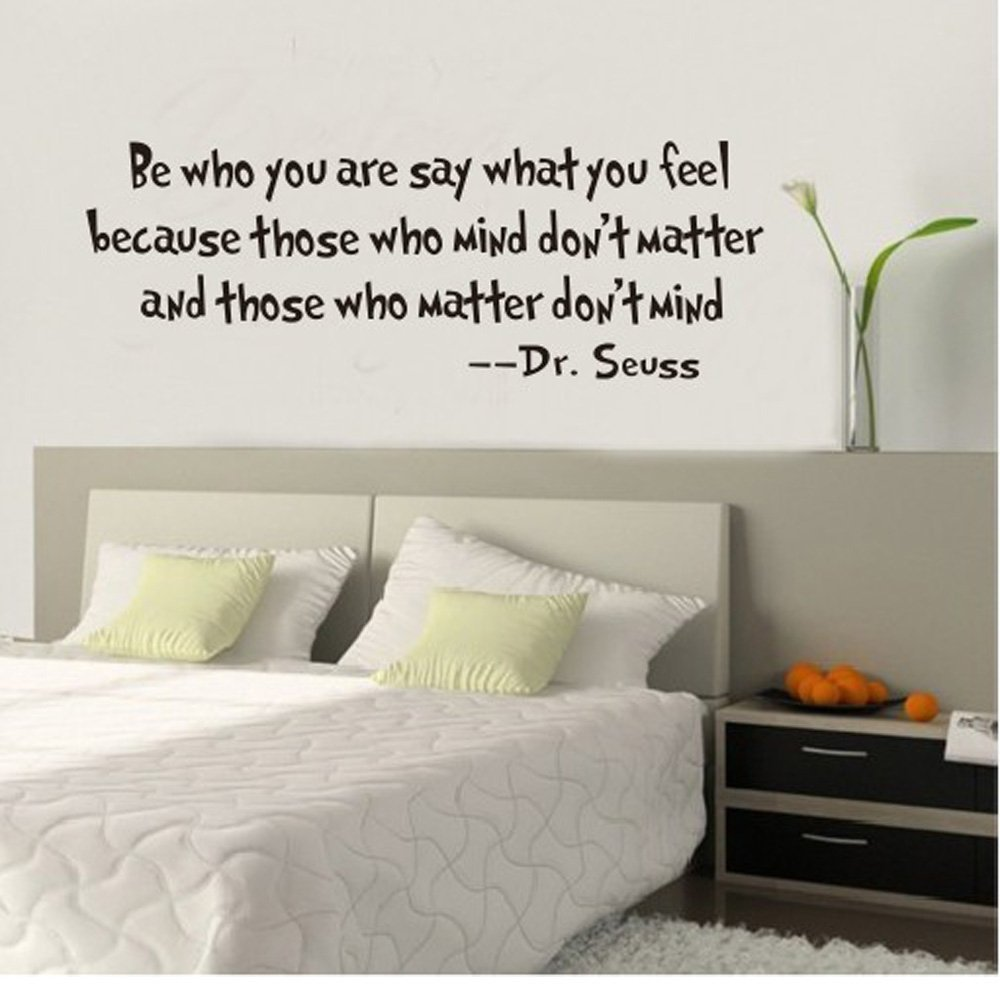 Dr.Seuss The More You Read Vinyl Decal Removable Wall Sticker Mural Home  Decor: Amazon.ca: Home U0026 Kitchen Part 42