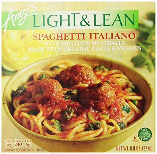 Amy's Light & Lean Spaghetti Italiano, 8 oz (Pack of 12)