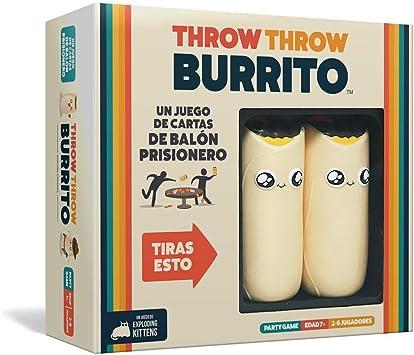 Espa/ñol Throw Throw Burrito