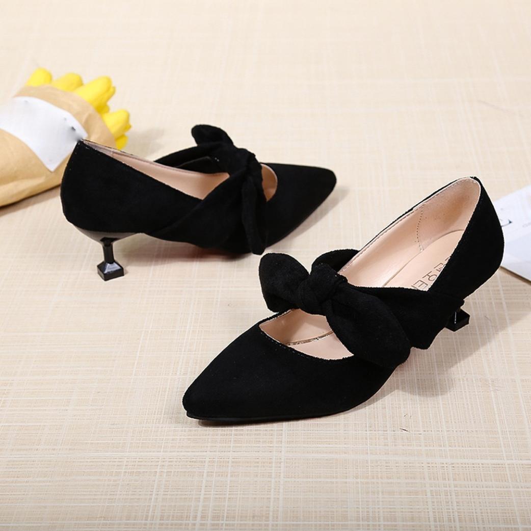 ¡Oferta de liquidación! Zapatos de mujer de Covermason Bombas de punta estrecha Zapatos Zapatos de tacón alto Zapatos de tacón de aguja(39 EU, ...
