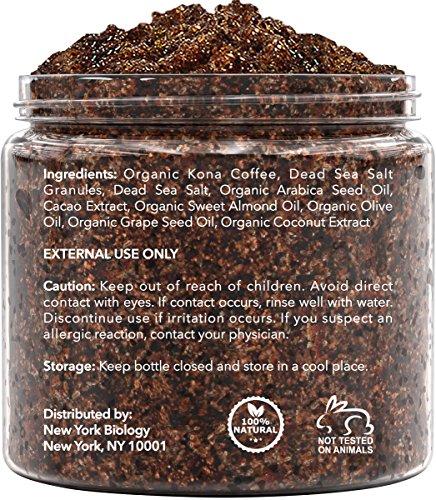 Arabica Coffee Scrub Newyork Biology