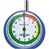 GODESON Tire Tread Depth Gauge, Dial Type Tire Tread Depth Gauge Professional for Motorcycle, car,Truck and Bus,Easy Reading