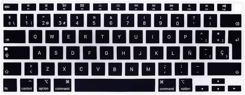 Protector teclado español MacBook Air 13 pulg A2179 2020