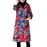 GIFC Women Fashion Plus Size Winter Coat