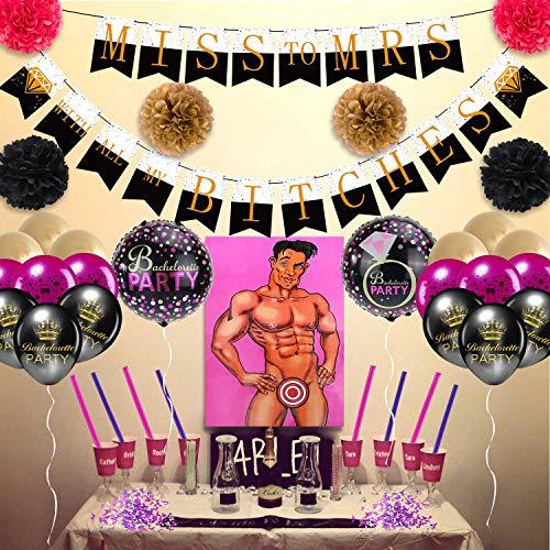Bachelorette Party Supplies Decorations Favors Games Bridal Shower Kit