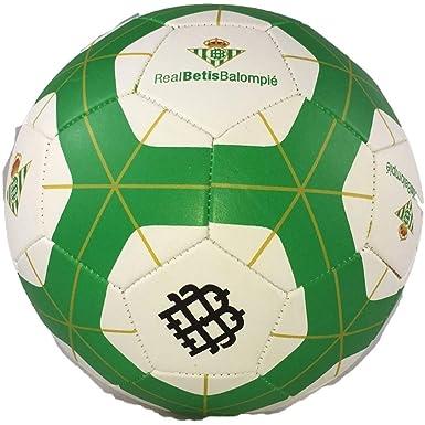 Elregalopara 17BA0032- Balón de fútbol Real Betis, Blanco/Verde ...