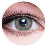 Dahab Gray Green Contact Lenses, Unisex Dahab Cosmetic Contact Lenses, 9 Months Disposable- Eye Enlargement Collection…
