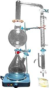 Equipo de destilación de vapor de aceite esencial de laboratorio ...