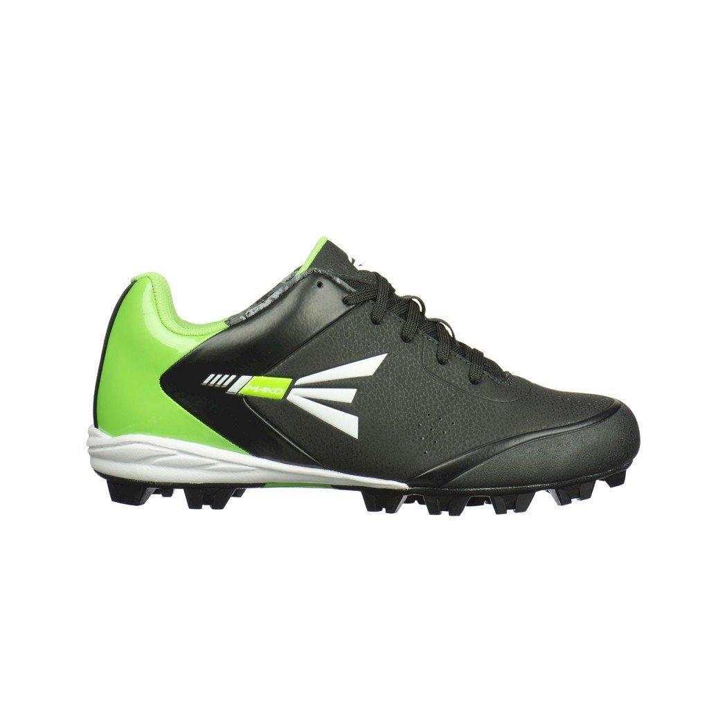 Easton New Mens Mako 2.0 Baseball Softball Cleats Black Green - Choose Size! M33622