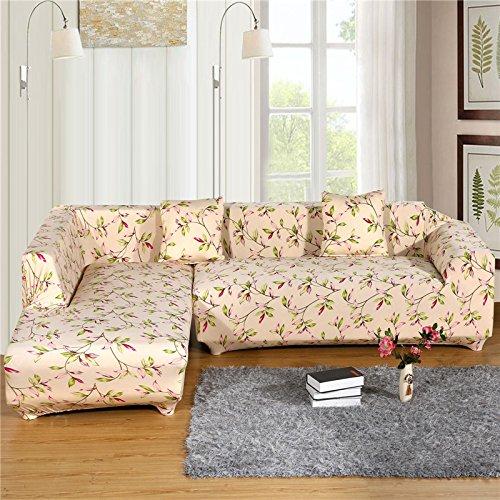 RUGAI-UE Sofa Slipcover elastic sofa set sofa cover non slip full cover old sofa cushion cloth art sofa towel,Three person 190--230CM,Rapidly go up in the world