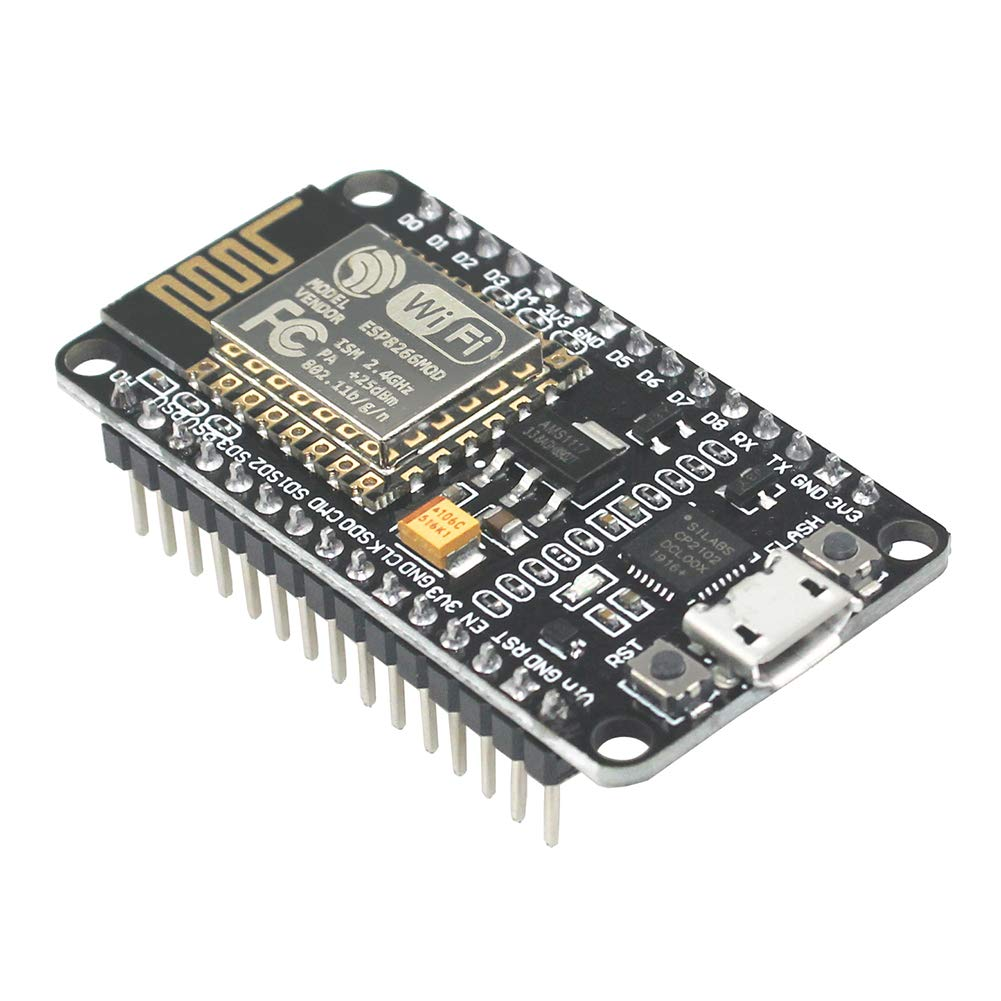 KeeYees ESP8266 NodeMCU Amica CP2102 ESP-12E WiFi Internet Development  Board Wireless Module Compatible with Arduino IDE