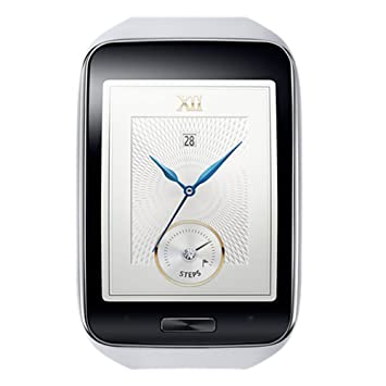 Samsung GEAR S SM-R750 Smartphone Montre / Bracelet Blanc