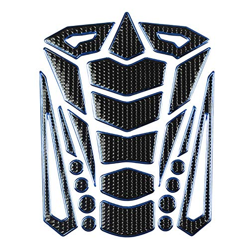Gas Tank Protector, Universele Motorfiets Side Tankpad Gas Brandstof Olie Tank Pad Stickers Decal Protector Tank…