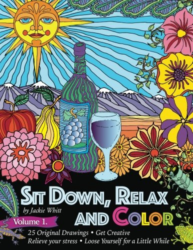 Amazon Sit Down Relax And Color Volume 1 Adult Coloring Book