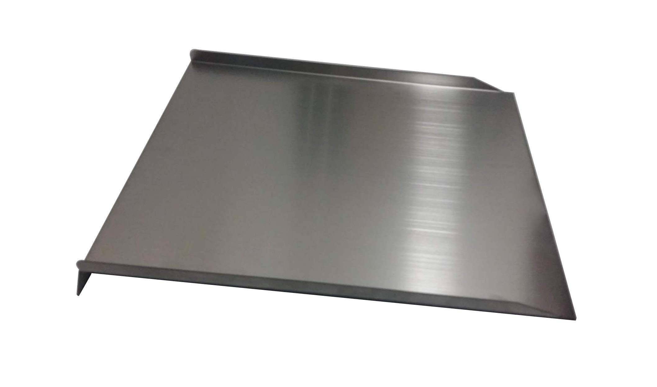 Cookingstar Steel Drip Pan Heat Baffle, Replacement for Traeger Pellet Smoker Grill, Traeger 34 Series, 32.5'' x 15.75'' BAC-006