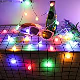 Gallity String lights - 12 Meters Outdoor Fairy Lantern Party Garden Home Wedding Lighting Decoration (A)