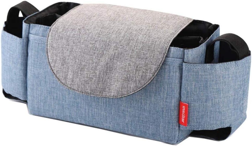 Color : Blue, Size : 21 * 12 * 12cm Mumienbeutel Umh/ängetasche wasserdichte Handtaschenbeutel Multifunktionsanh/änger f/ür Kinderwagen