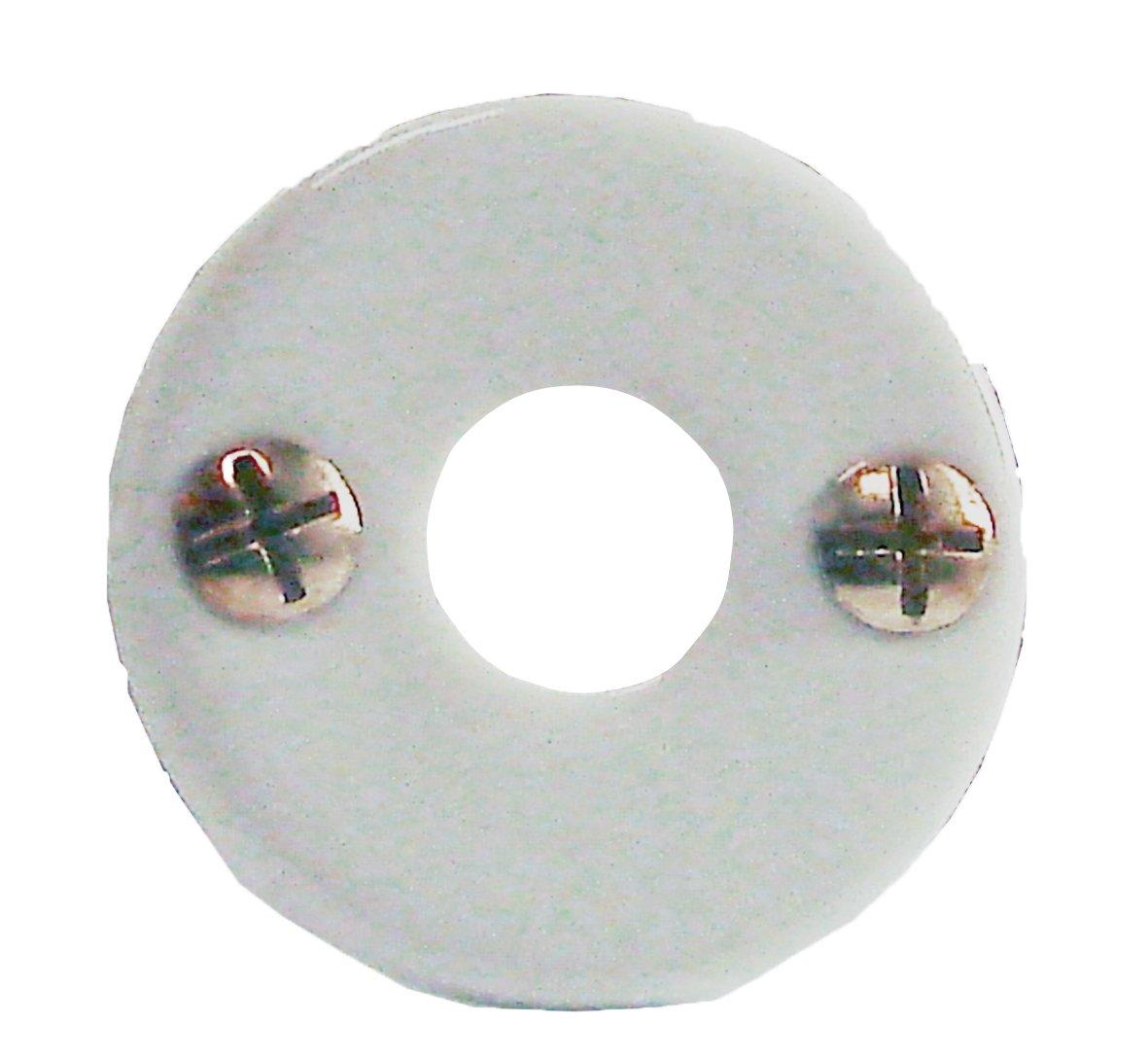 DT 2000 150170 1 Rosace bé quille porcelaine Blanc